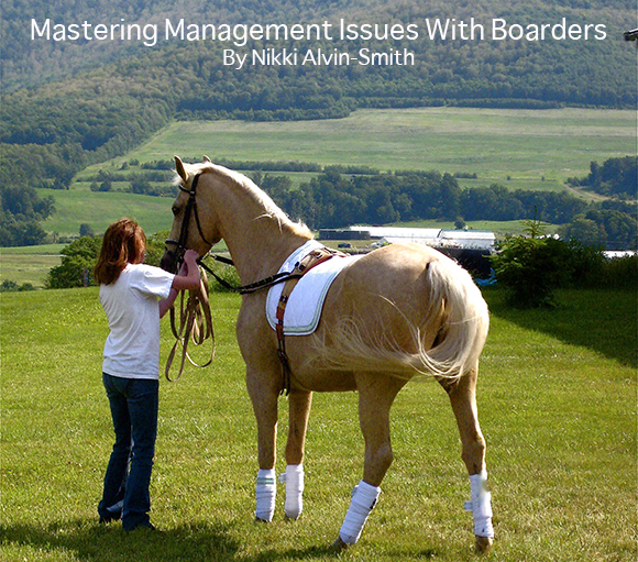 Mastering Management Issues With Boarders
