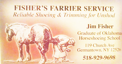 Fisher's Farrier Service