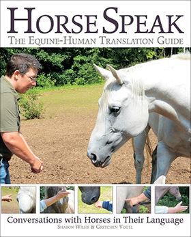 Horse Speak: The Equine-Human Translation Guide by Sharon Wilsie & Gretchen Vogel.