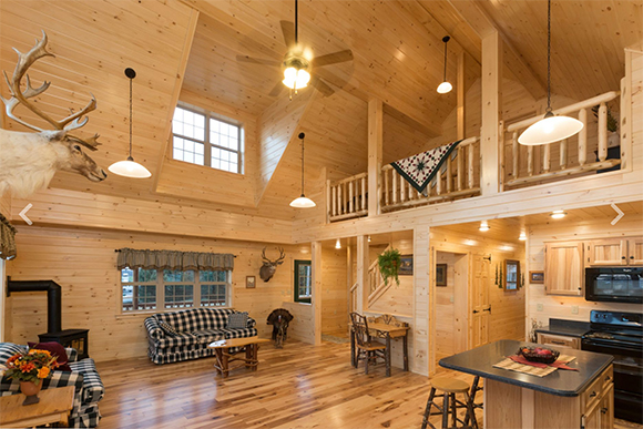 Cozy Up Cabins And Luxury Log Homes Big And Small Zook Cabins Builds Them All
